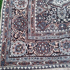 Hand made Large Woolen Carpet in excellent condition Size - 11.92 ft X 9 ft