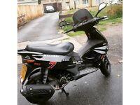 125cc Gilera good condition, fast bike. MOT till february 2019