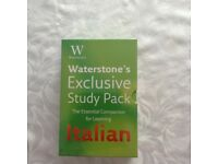Italian Language (books and CDs)