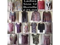 Ladies Size 12 Clothing