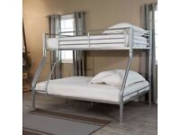 brand new === same day fast delivery == TRIO SLEEPER BUNK BED SAME DAY EXPRESS DELIVERY