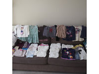 Girls Autumn Winter Clothes bundle 2-3 years - 50 items inc Next and Blue Zoo