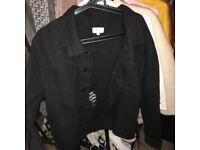 Black denim jacket Sarah Ashcroft x InTheStyle