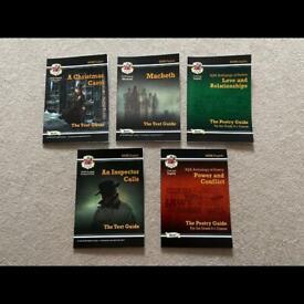 Gcse English Literature revision guides
