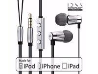 GGMM Alauda In Ear Earphone with Mic, Noise Isolating Deep Bass Headphone