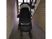 Pram with car seat and separate buggy included
