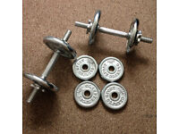 Olympus Sport Dumbell Weights, Like NEW