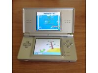2 Nintendo DS Lite Silver & Black Console with Charger