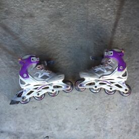 Boys and Girls Roller Blades, Size 2.5-5