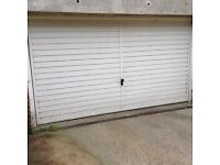 Parking space in locked garage