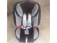 Britax Evolva 123 car seat 9 months - 11 years.