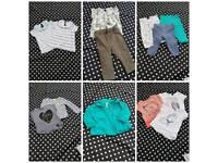 Beautiful Next Zara River Island baby girl clothes size 6-9