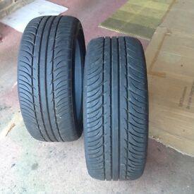 Car tyres runflat 7 mm tread