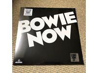 David Bowie - Bowie Now - New and sealed 2018 Record Store Day White Vinyl LP