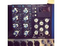 API 500 series 550b eq, x2 - as new.