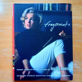Fragments: Poems, Intimate Notes, Letters [Hardcover] (used, very good condition)