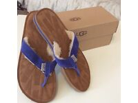 BRAND NEW UGG AUSTRALIA MEN FLIFLOP WITH BOX SIZE UK 8.5 FOR SALE £25