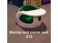 Baby Seat, Nappy Bin, Twin Feeding Pillow
