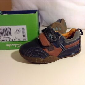 Boys Clarks shoes