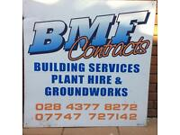 Groundwork , paving, Mini Digger , landscaping, lorry hire