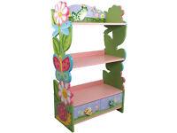 Fantasy Fields Magic Garden Childrens Wooden Bookcase Storage Kids