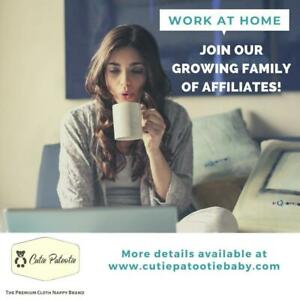 WORK AS AN AFFILIATE at Home or Anywhere, Using Your Phone!