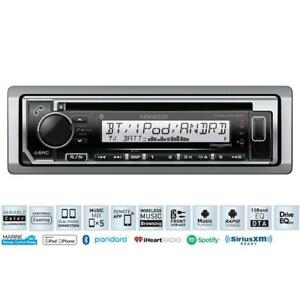 Kenwood KMR-D372BT Marine Audio CD Receiver Headunit with Bluetooth