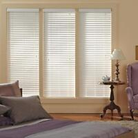 Blinds, Shutters and Drapes.
