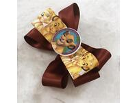 Beautiful simba lion king bow