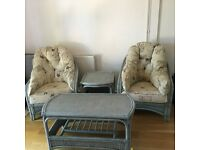 Arm chair sofas and tables