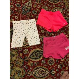 Bundle of shorts (3 to 4 years)