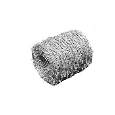 Durable Barbed Wire Fencing 2-wired 4-pointed High-tensile Farmgard Us Stock