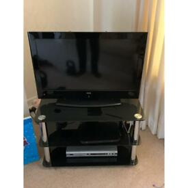 TV stand and flat screen TV package