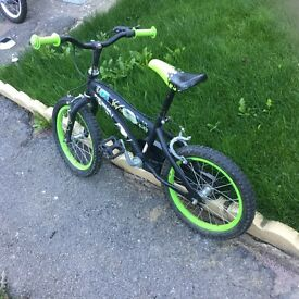 Boys bicycle green