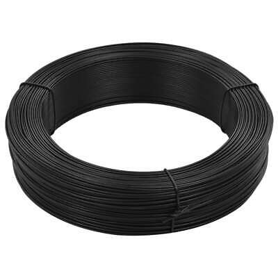 vidaXL Fence Binding Wire 2.3/3.8mm Steel Anthracite Tension Tie Roll Wrap