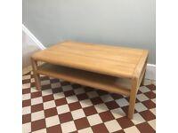 Habitat Radius Solid Oak Coffee Table