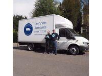 Tom's Van. Your reliable, friendly man and van service.