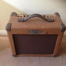 Kustom Guitar and Microphone Amp