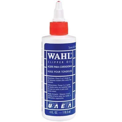 WAHL Lubricated Blade Oil for Hair Clipper Trimmer Shaver 4 -