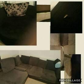 Love chair and sofa