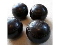 Henselite Lawn Bowls Size 4 Supergrip