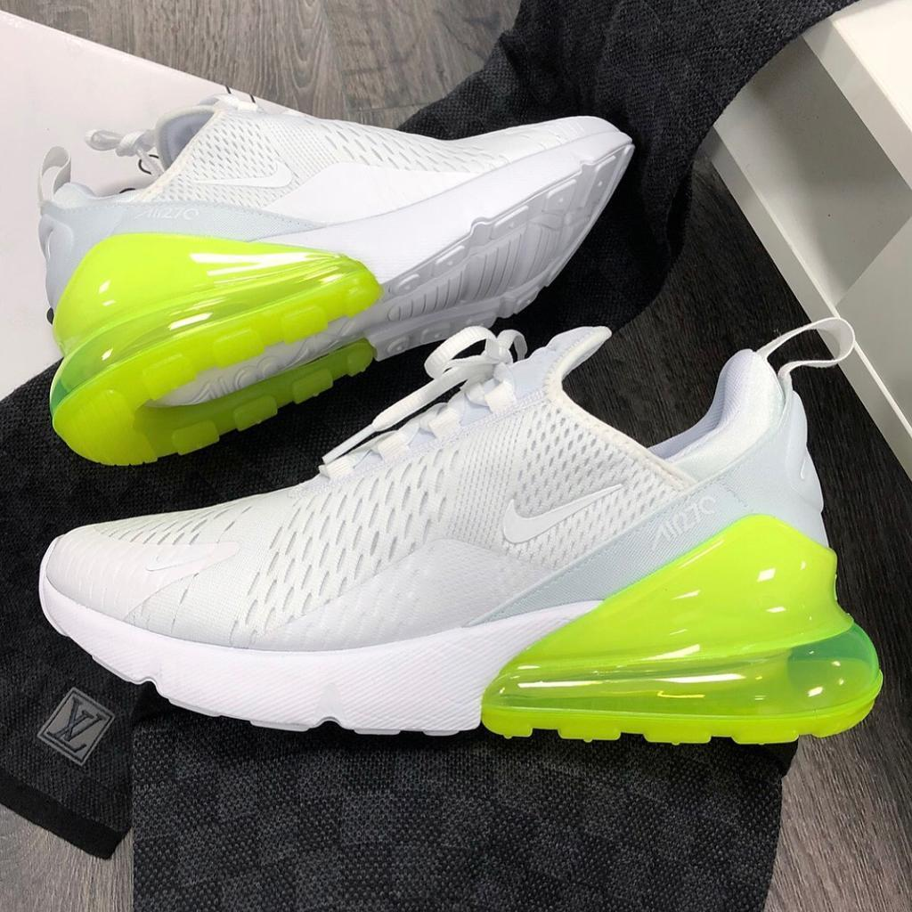 c33660206fc631 Nike Air Max 270 WHITE VOLT