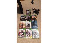 Xbox 360 E Slim 250GB with games