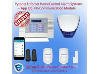 Pyronix Security Burglar Alarm - Pyronix Mobile App to control the Alarm