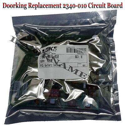 Doorking 2340-010 Control Board Automatic Gate Opener Electronic Circuit Parts