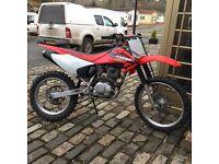 Honda crf 230 f . £1700