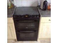 Zanussi Gas Oven - 2yrs old bought new. Pick up central Cambridge