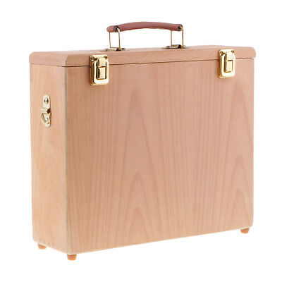 - Artists Wooden Oil Paintings Canvas Board Panels Carrier Storage Box Case