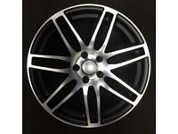 7111 Audi RS4 style new alloy wheels SEAT Skoda 5x112 Volkswagen VW 18 inch
