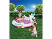 6ft Paddling Pool Unicorn Pegasus!!